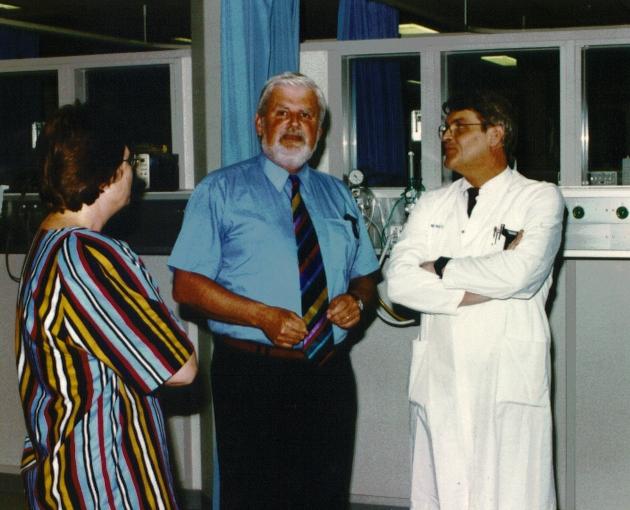 Joke Voordouw, Maerten Verstegen en Wilfried de Goeij