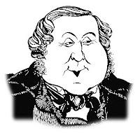 caricatura de G.Rossini