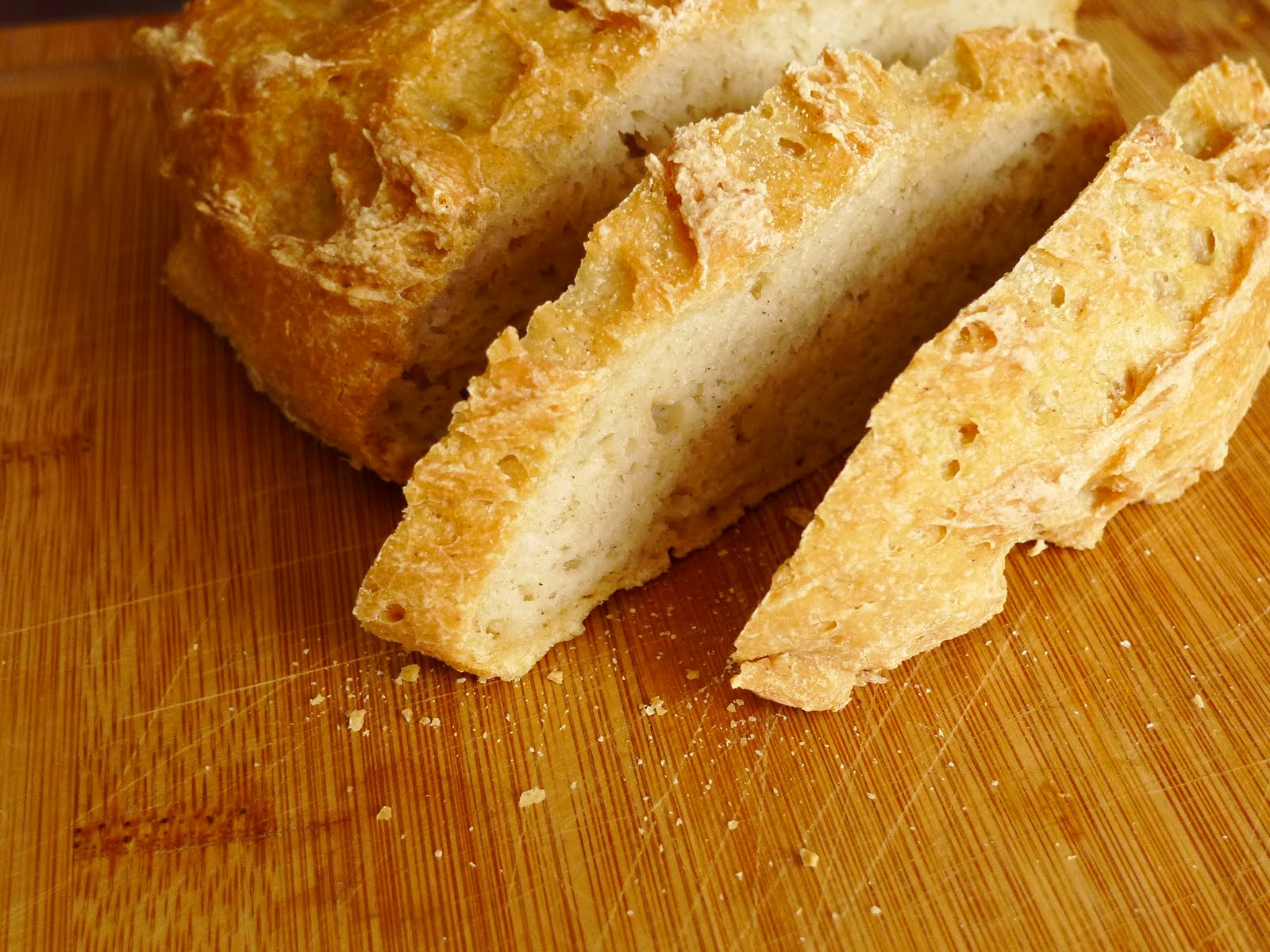 Gluten-free Gourmand: Gluten-free Boule Bread - Second Loaf