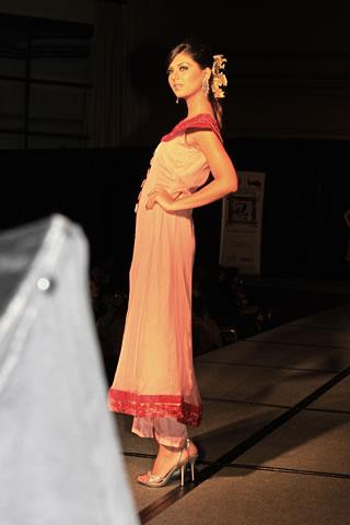 Fashion Models in Bridal Sarees, Salwar Kameez & High Heels