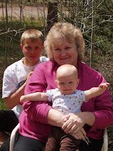 Grandma, Tanner and Cooper