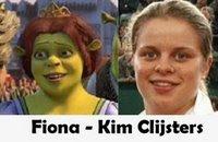 Parecidos a tenistas Fiona