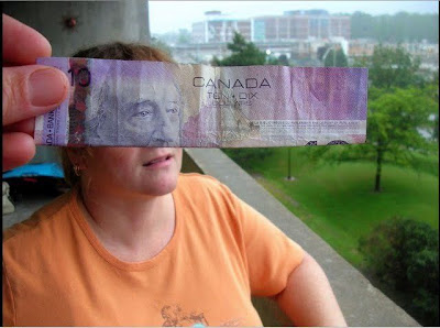 Creative Optical Illusions with Money