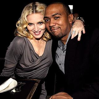 Madonna with Timbaland