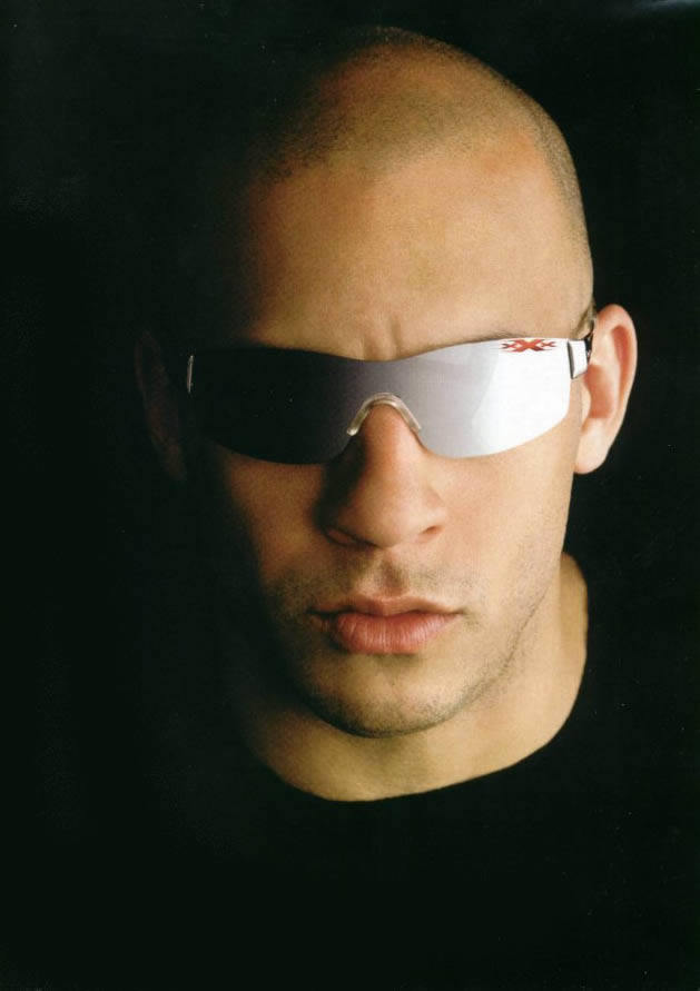pictures of vin diesel with hair. vin diesel twin brother paul