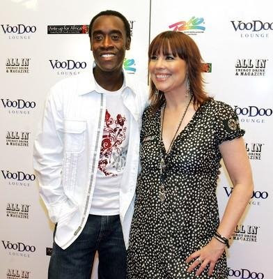 Don Cheadle and Annie Duke | Poker