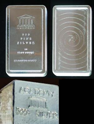 Academy Corporation bullion
