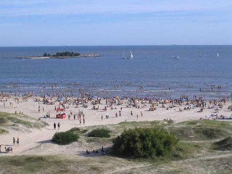 Playa, mar y cielo de Malvín