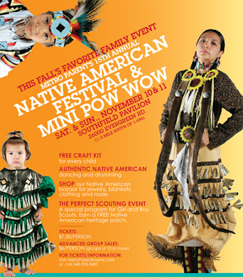 Motorcityblog 15th annual native american festival and for Motor city mini southfield mi