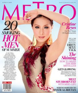 Cristine Reyes - Metro Magazine March 2009