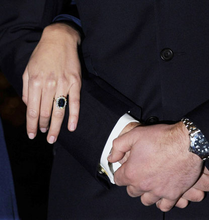 prince william kate middleton wedding ring. And now, it#39;s Prince William