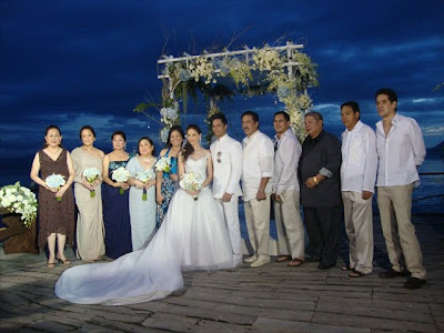 Oyo and Kristine wedding pictures just keep coming ...