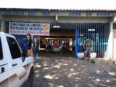 Mutirão de Limpeza e Revitalização da Escola.
