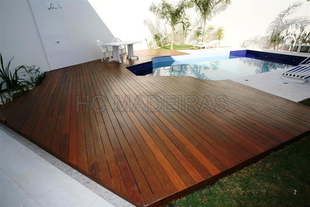 Hc madeiras deck for De k piscina