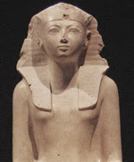 Limestone sculpture of Hatshepsut