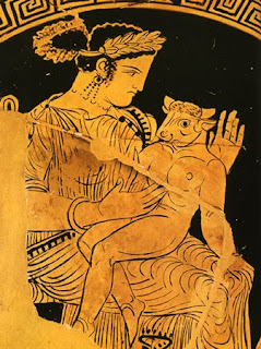 Pasiphae with the minotaur