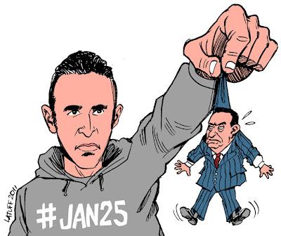 Latuff - Egyptian Revolution