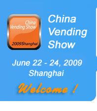 China Internacional Vending 2009 from June 22-24, 2009 at Shanghai China