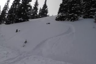 Snow-Cat Skiing On Berthoud Pass