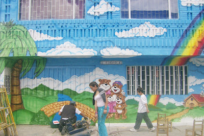 Pintura decorativa murales infantiles alcobas y murales for Jardines murales