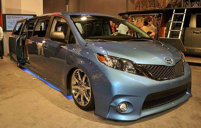 ... Maior Salão De Veículos Modificados Do Mundo, A Toyota Exibiu Nesta  última Quinta Feira Uma Versão Especial Da Sua Crossover Sienna.