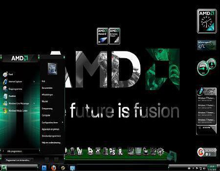 AMD Theme for Windows 7