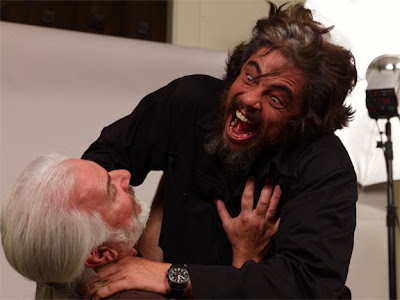 Photo of the Wolfman monster, from the new 2009 movie.