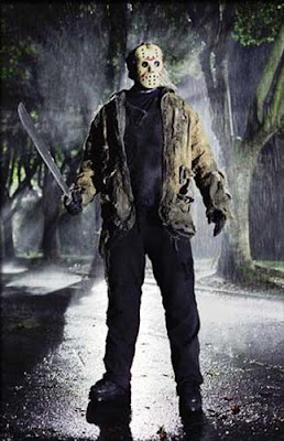 the best horror villains of all time, Jason Voorhees from the Friday The 13th movie series