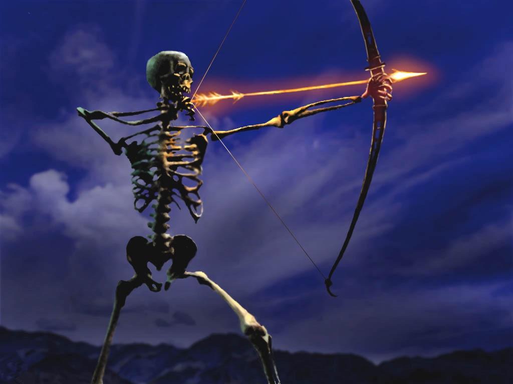 halloween skeleton wallpaper - photo #5