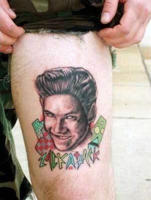 Unfortunate Pop Culture Tattoo Seen On www.coolpicturegallery.net
