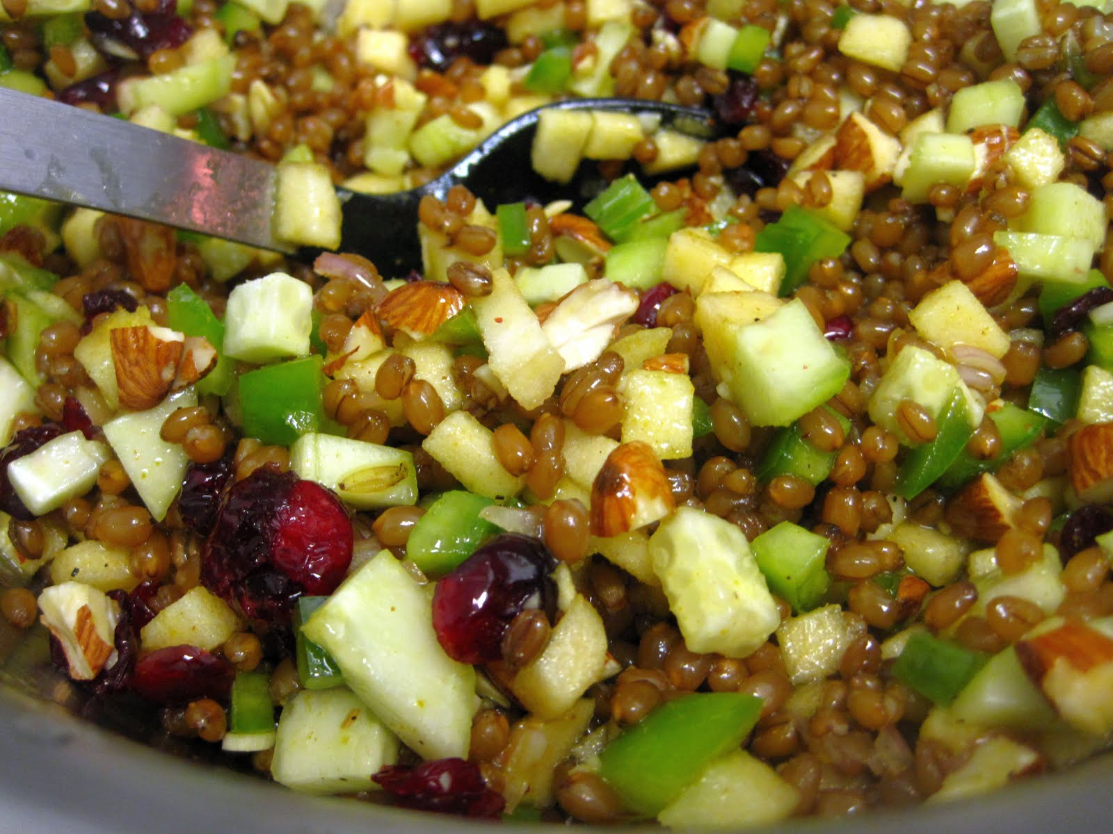 ... berry salad greek wheat berry salad feta wheat berry salad the wheat