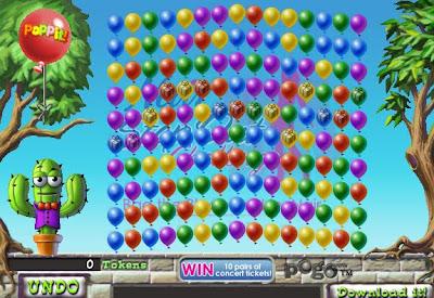 Pogo poppit game prizes