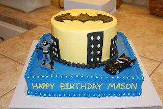 Sweet Creations by Shannon Batman cake