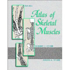 Atlas of Skeletal Muscles 3rd edition PDF by  Robert J. Stone