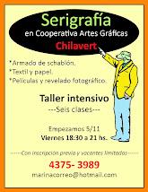 Serigrafía en Cooperativa Artes Gráficas Chilavert