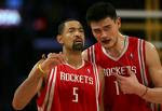 Juwan Howard and Yao Ming