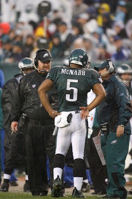 Donovan McNabb and Andy Reid
