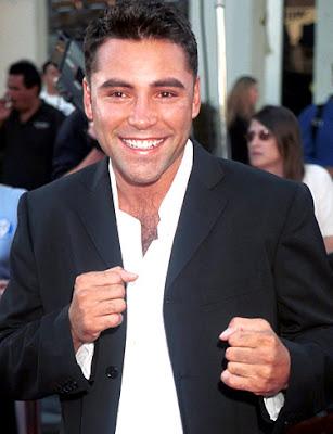 oscar de la hoya pictures. Boxer Oscar De La Hoya will be
