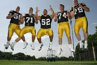 Iowa offensive linemen