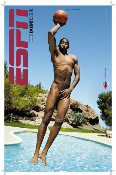Amare Stoudamire in ESPN The Magazine's Body Issue