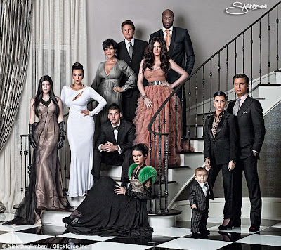 Kardashians Christmas card
