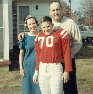 Bill Belichick as young boy