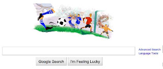 world cup 2010 google logo