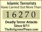 muslim terrorist killing many people since 911