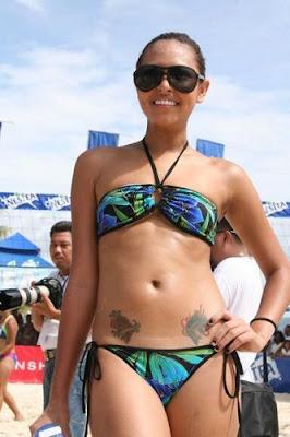 maggie wilson bikini boracay