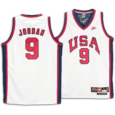 michael jordan usa jersey