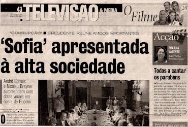 MATÉRIA NO CORREIO DA MANHÃ