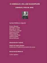 III Homenaje a W. Shakespeare. 2008