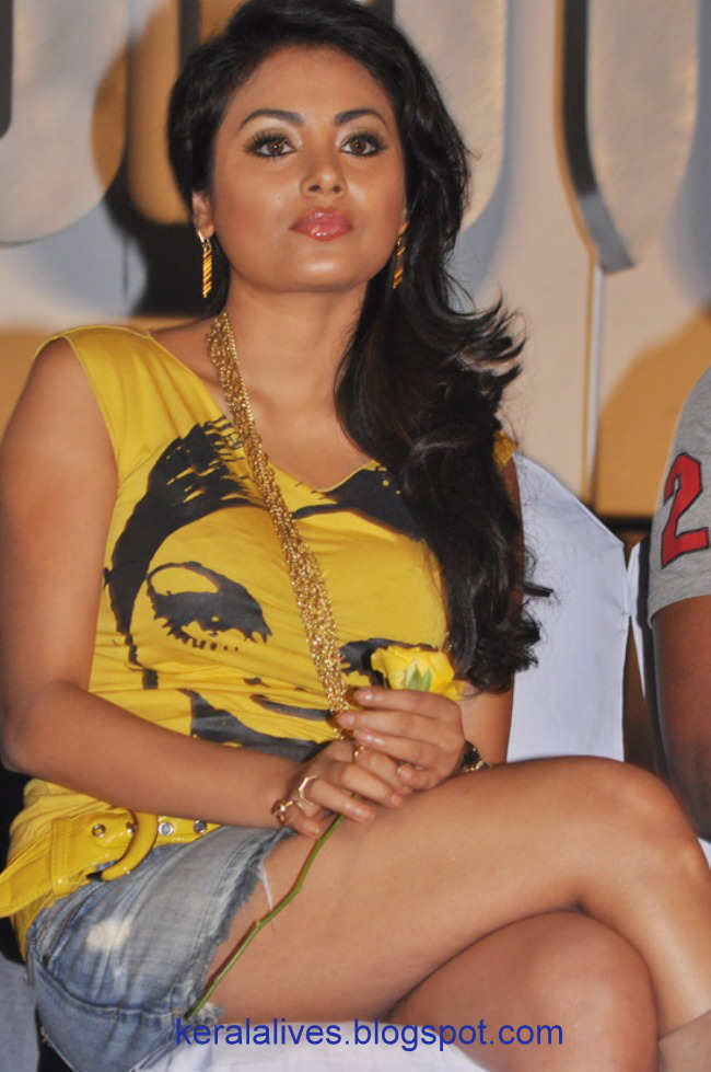tamil hot actress meenakshi showing sexy thighs in public