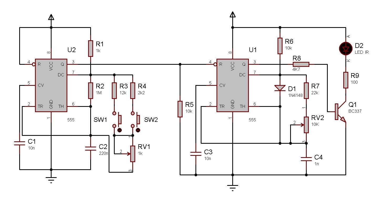Circuito Eletronica : Eletronica erlich: controle remoto ir